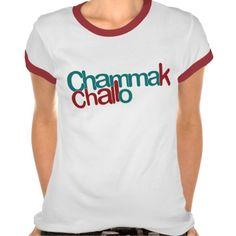 0729bd532ec Chammak Challo Beautiful Girl in Hindi Tshirts Stuff To Buy