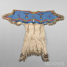 Детское платье, Лакота. Последняя четверть 19 века. А.
