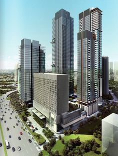 Crowne Plaza will soon expand to be Mangkuluhur City. Jakarta, Indonesia