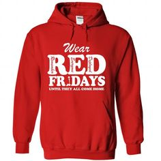 RED FRIDAYS T Shirts, Hoodies. Get it now ==► https://www.sunfrog.com/LifeStyle/RED-FRIDAYS-Red-Hoodie.html?41382