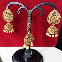Jewelry & Watches Trustful Ethnic Bollywood Goldplated 2pcs Necklace Earring Set Wedding Party Jewellery Wide Varieties