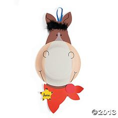 Paper Plate Horse Craft Kit $8.25...Doz.