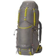 921beb0aa64 Mountain Hardwear Ozonic 65 OutDry Backpack Titanium Medium / Large North  Face Rygsæk, Udendørsudstyr,