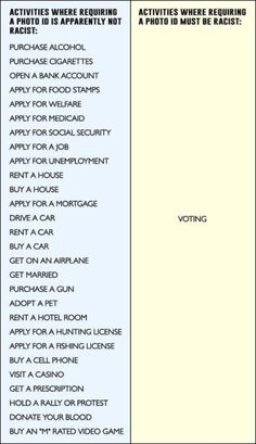 Awesome chart DESTROYS liberal arguments about voter ID