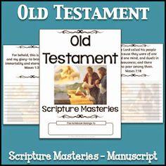 LDS Notebooking: Old Testament Scripture Masteries - Manuscript