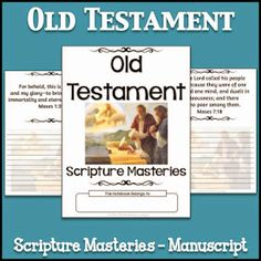 LDS Notebooking: Old Testament Scripture Masteries - Manuscript