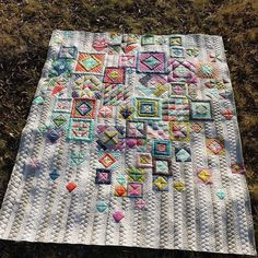 Kathleen Quilts - Gypsy Wife Quilt. Gorgeous quilting!