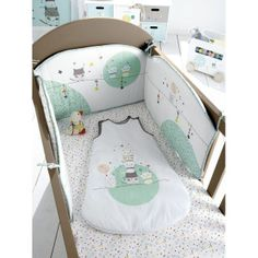 Touche pas ma couche on pinterest tour de lit zara - Tour de lit bebe zara home ...