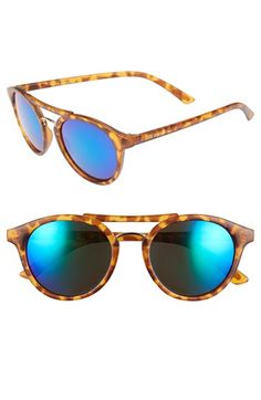 Steve Madden 50mm Round Retro Sunglasses available at #Nordstrom