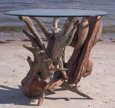 driftwood sculutpres | Driftwood coffee tables, end tables and table art. Driftwood tables ...