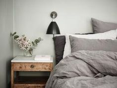 [Bed covers] 7 Ideas to Steal from a Super-Stylish Scandinavian Home Interior, Stylish Space, Home, Home Bedroom, Bedroom Interior, Scandinavian Home, My Scandinavian Home, Interior Design, New Room