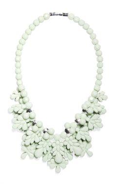 Ek Thongprasert The Fog Green Charleston Necklace at Moda Operandi