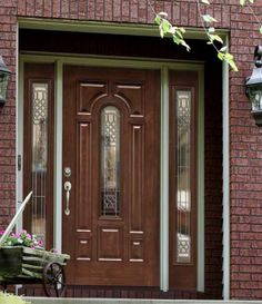 1000 images about doors on pinterest entry doors for Storm doors for double entry doors