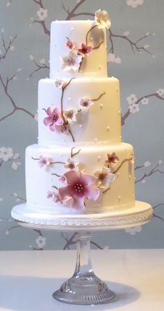 Japanese blossom cake from Planet Cake