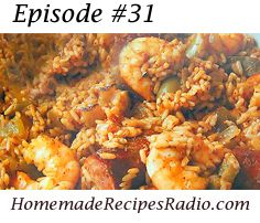 Creole Jambalaya recipe - with shrimp, ham, and sausage