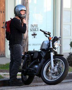 Norman Reedus Photo - Norman Reedus Showing Off His Motorcycle In Studio City
