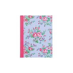 Cath Kidston Fabric Covered Notebook ($12) ❤ liked on Polyvore featuring home, home decor, stationery, school, dodatki and notebooks