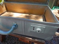 ~Shabby Suitcase~              ~MATERIALS~   ~Please read all instructions before starting~     Suitcase   Board (approx 3  mm thick) ...