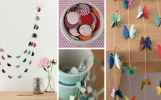 Butterflies-crafts-garlands