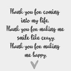 Thank you for loving me For being my eyes When I couldn't see For parting my lips When I couldn't breathe Thank you for loving me.. . .…