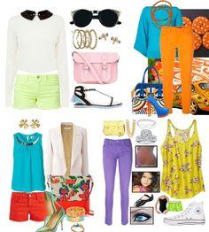 Hot Now Colored #Denim - Blog #Benetton #fashion #tips