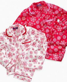 So Jenni Kids Sleepwear Set, Girls and Little Girls Flannel Holiday Shirt and Pants - Kids Pajamas, Underwear & Socks - Macy's