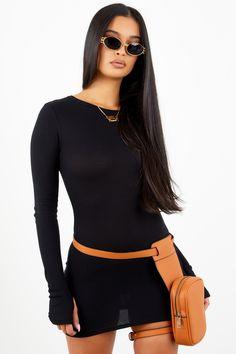 faf5a4e8926 Sorella Black Thermal Dress