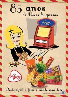 Lembra-se dos Chocolates Regina?  A marca está de volta, agora melhor que nunca!  Saiba mais acerca da marca de chocolates mais antiga de Portugal, clicando no link abaixo.  #ChocolatesRegina #chocolate