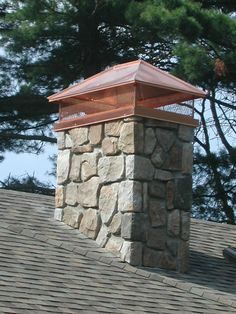 copper chimney | ... your copper source...copper chimney caps...custom copper chimney caps