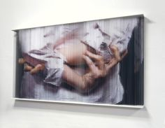 3D Sculptures Made from Dangling Strands of Elastic - My Modern Met