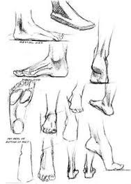 Image result for walking draw feet