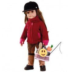 GOTZ Hannah Loves Horseriding Red Doll 50cm#toys2learn#gotz#dolls#50cm#brunette#hair#hannah#horse#riding#australia#