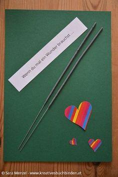 Wenn du mal ein Wunder brauchst ...  Wenn Buch Ideen | Bastelanleitung | Geschenkidee