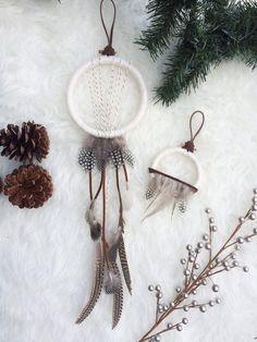 Bast + Bruin dreamcatchers features as Boho Christmas Decor on C'est Bientot Noel