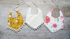 Baby Drool Bibs With FREE Pattern Toddler Bibs, Baby Bibs, Bib Pattern, Free Pattern, Baby Sewing Projects, Fabric Scissors, Crochet Patterns For Beginners, Drool Bibs, Print And Cut