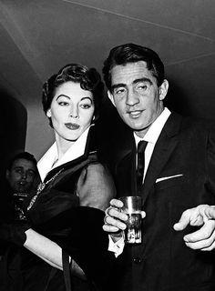Walter Chiari e Ava Gardner
