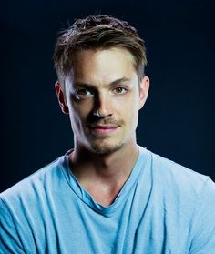 Joel Kinnaman from The Killing. Didn't know he was so cute in real life! And SWEDISH!