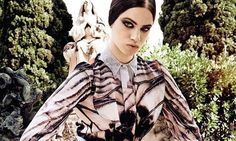Model Lily McMenamy Stars as the Face for the New Givenchy Collection #fall #fashion trendhunter.com