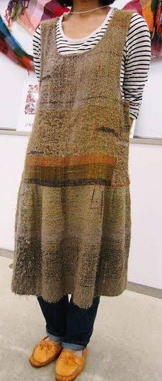 SAORI weaving clothes - Google Search