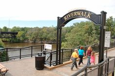 River walk downtown and other things to do in Dells Vacation Places, Vacation Destinations, Vacation Spots, Vacation Ideas, Vacation Travel, Lake Delton, Wisconsin Vacation, Wisconsin Dells Attractions, All I Ever Wanted
