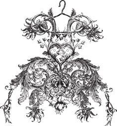.Fantasy dress printable                                                       …