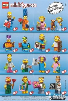 Lego minifigures Simpsons (series 2) обмен или — фотография №1