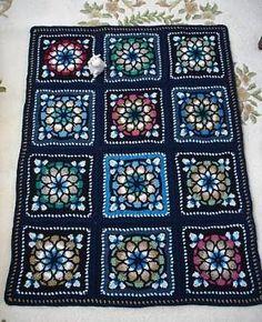 Stained glass crochet by cornelia