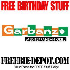 BIRTHDAY FREEBIE – Garbanzo Mediterranean Grill - FREE BDay Baklava