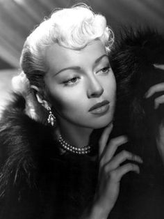 Lana Turner, American.