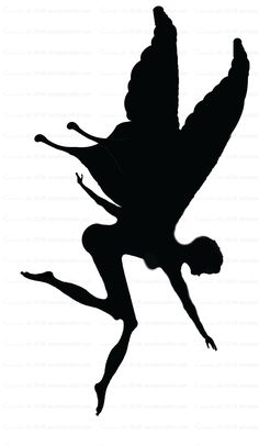 Free Patterns and ideas: Fairy Silhouette