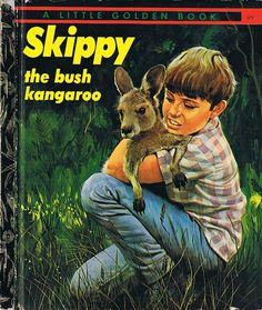 SKIPPY THE BUSH KANGAROO, Little Golden Book, Four Colour Back | Flickr - Photo Sharing!