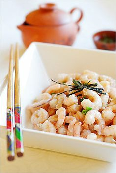Can you smell the freshness of the Dragon Well Tea Shrimp Dish? #hangzhou #china #dish #culture #asia #travel #explore #food #dragon well #tea #delicacy