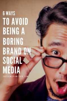 Did you know that 56% of people un-follow brands on social media because they are either too boring or too salesy? Here are 6 ways you can avoid being a boring brand on social. | Via Social Media w/ Priyanka - DIY Social Media and Content Marketing for your Biz + Blog.