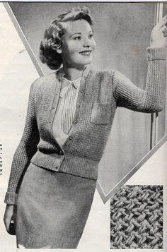 1930's Bestway Quickly Made Woollies PDF Vintage by 1940sPatterns